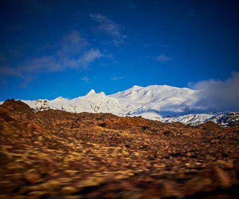 Whakapapa – Mt Ruapehu, New Zealand – Editorial